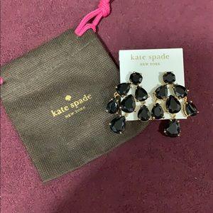 Worn one time! Kate Spade chandelier earrings
